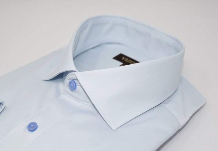 light blue dress shirt 5ieme avenue