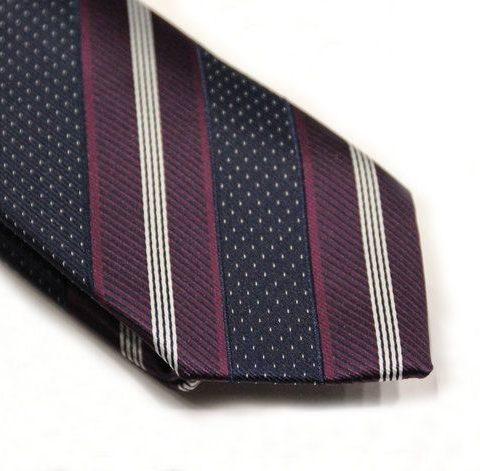 striped 5ieme avenue tie