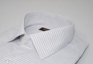 graph check extra slim shirt 5ieme avenue