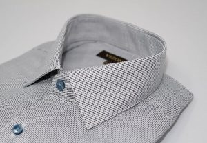 grey optical slim shirt 5ieme avenue