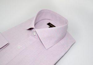 Pink Lined Slim Shirt 5ieme Avenue