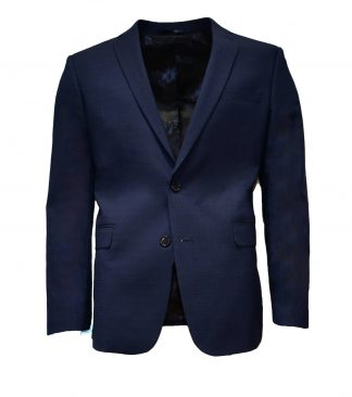Royal blue (brown) checkered suit